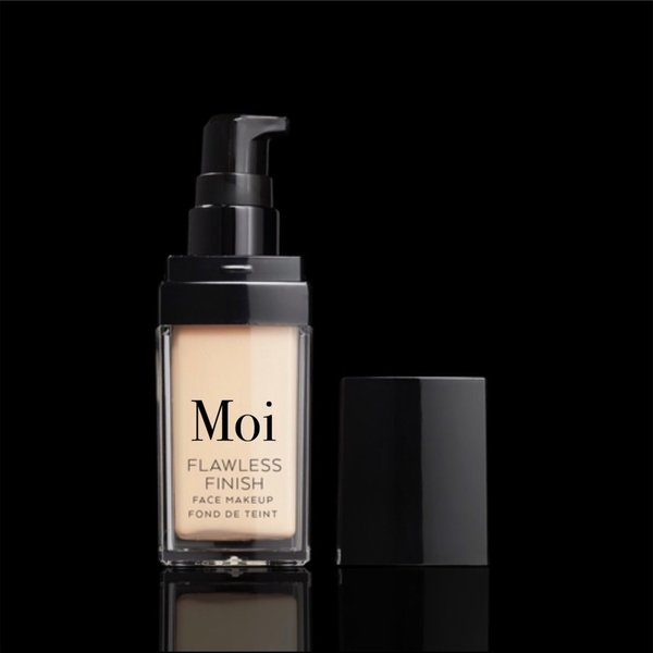 Moi Flawless finish foundation C2 Warm Yellow